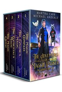 The adventures of Maggie Parker e-book cover