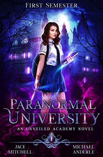 Parnormal Univesity ebook cover