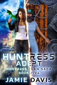 Huntress Adept ebook cover