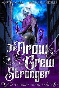 THE DROW GREW STRONGER ebook cover