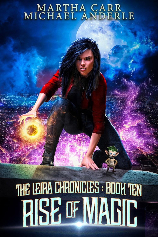 rise of Magic e-book cover