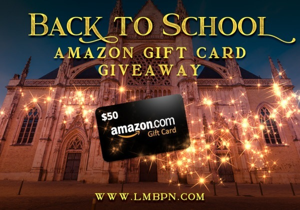 AMAZON GIFT CARD GIVEAWAY BANNNER