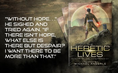 Risking It All In This First Snippet: Heretic of The Federation Book 1