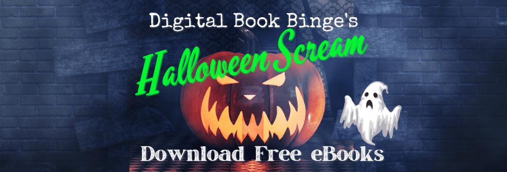 Halloween book promo banner