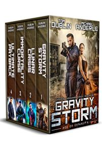 Shadow Vanguard boxed set e-book cover