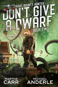 DONT GIVE A DWARF E-BOOK COVER