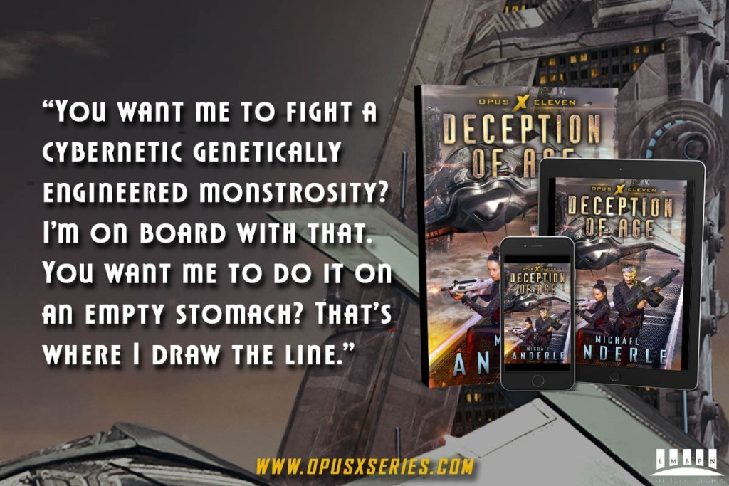 Deception of Age quote banner