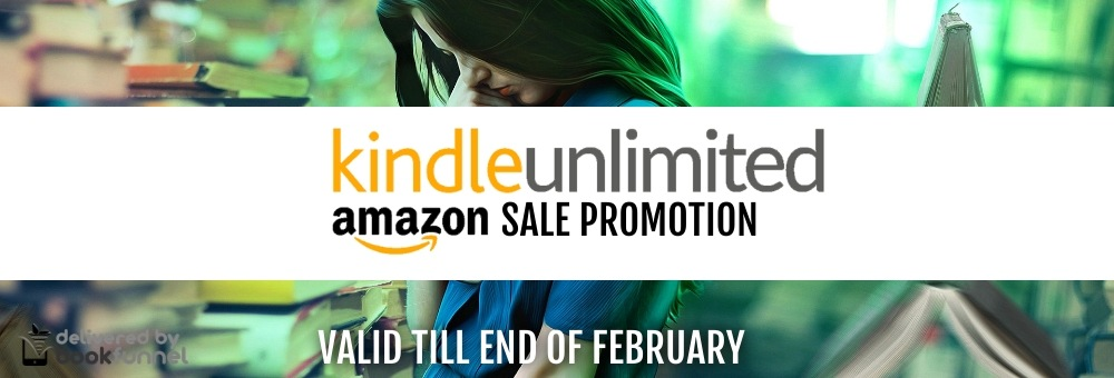 Kindle Unlimited Bookfunnel Promo Banner