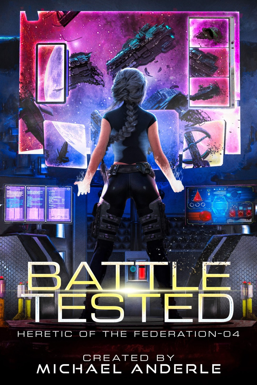 Battle tested e-book cover