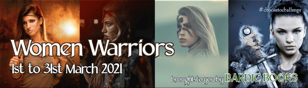 Bookfunnel Women Warriors promo banner