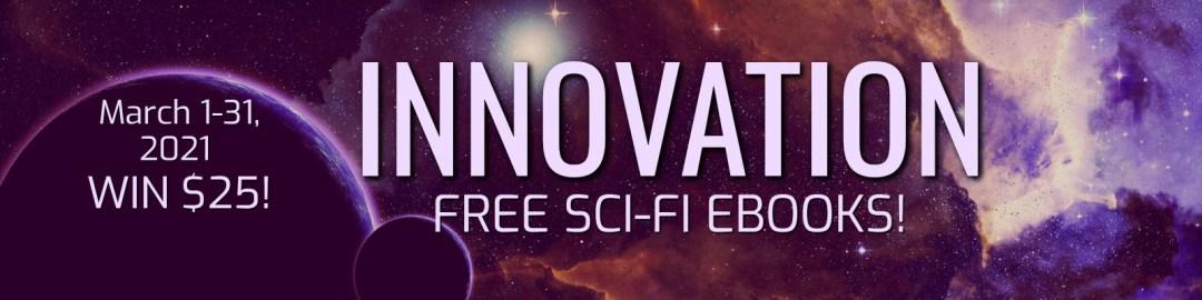 Sci-fi Bookcave promo banner