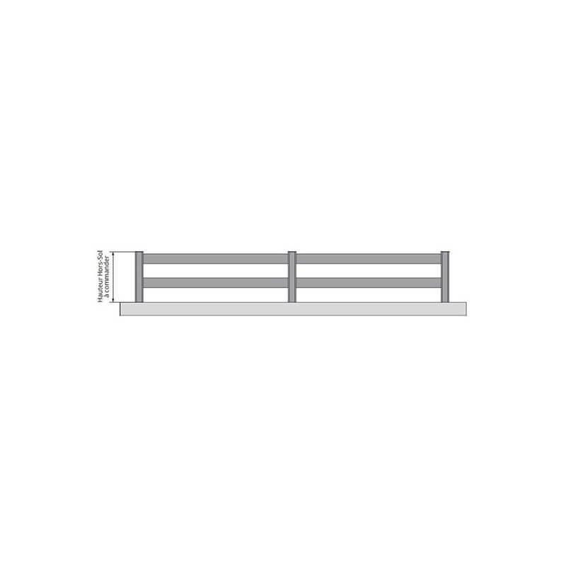 cloture aluminium ajouree a lisses horizontales sanary lmc ouvertures
