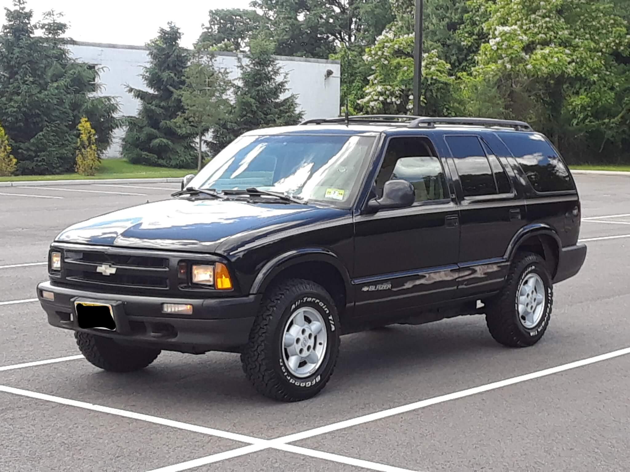 1996 Chevy S10 Blazer- Louis C.
