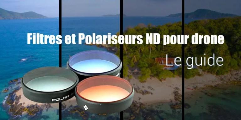 filtre polariseur drone