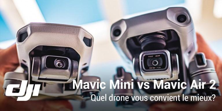 DJI Mavic Air 2 contre Mavic Mini
