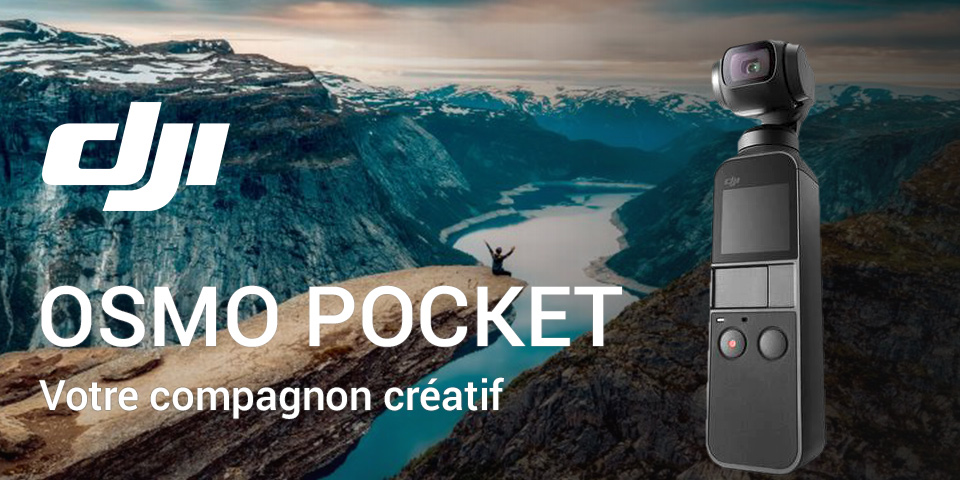 DJI Osmo Pocket 2 tarif pas cher