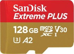 SanDisk Extreme Plus Carte mémoire MicroSDXC 128 Go