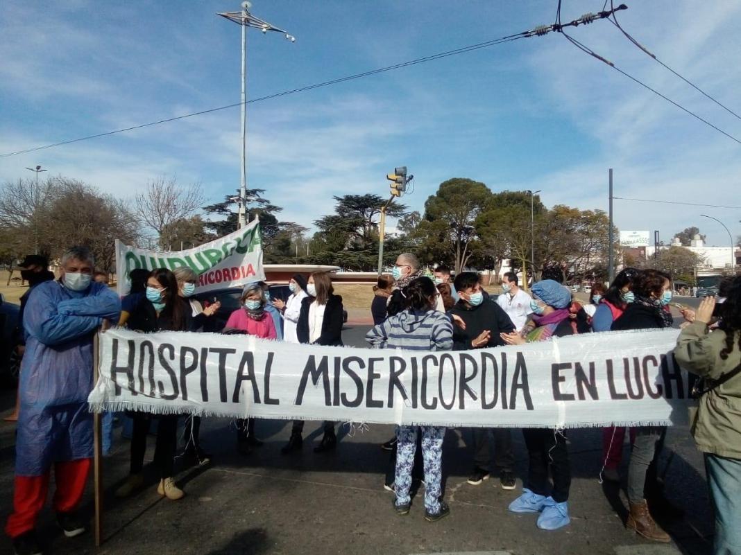 Reclamo de Salud hospital Misericordia by LNM