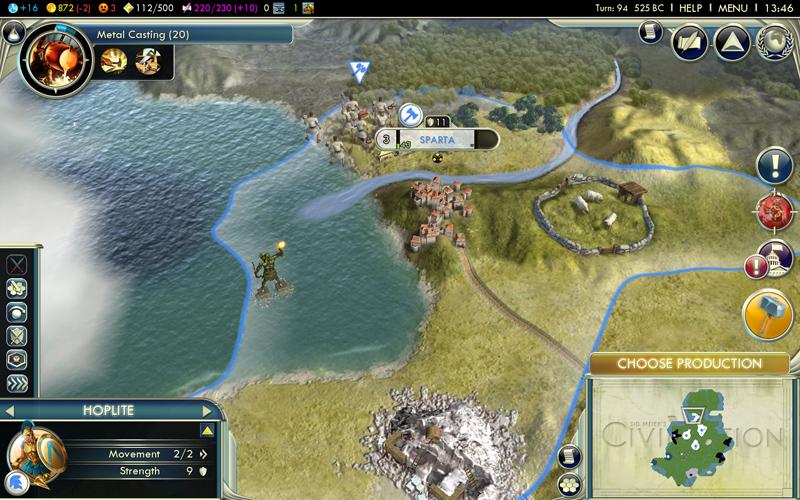 Civilization 5 - le rapport de partie (de la mort) (5/6)