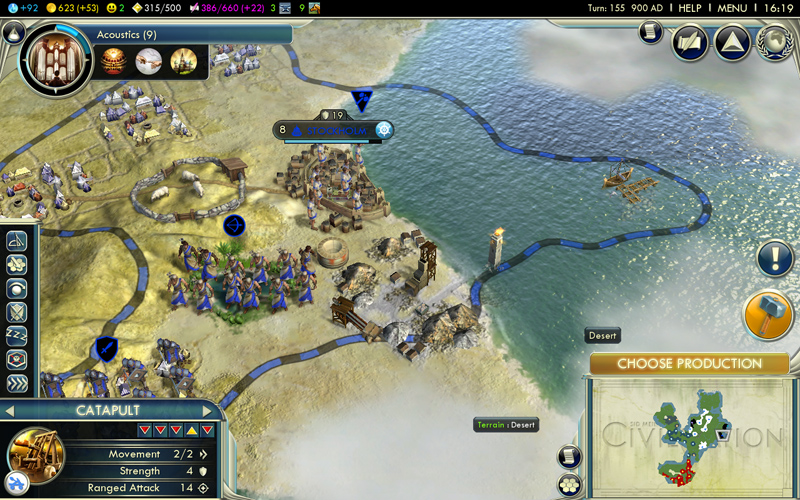 Civilization 5 - le rapport de partie (de la mort) (4/6)