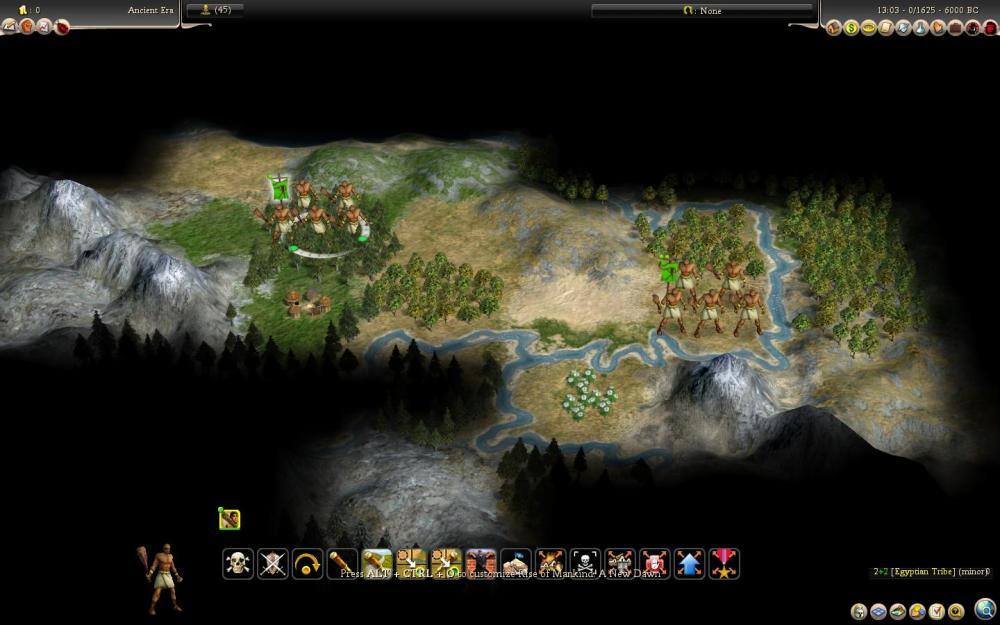 Civilization 4: Rise of Mankind - le rapport de partie (de la mort aussi) (2/6)
