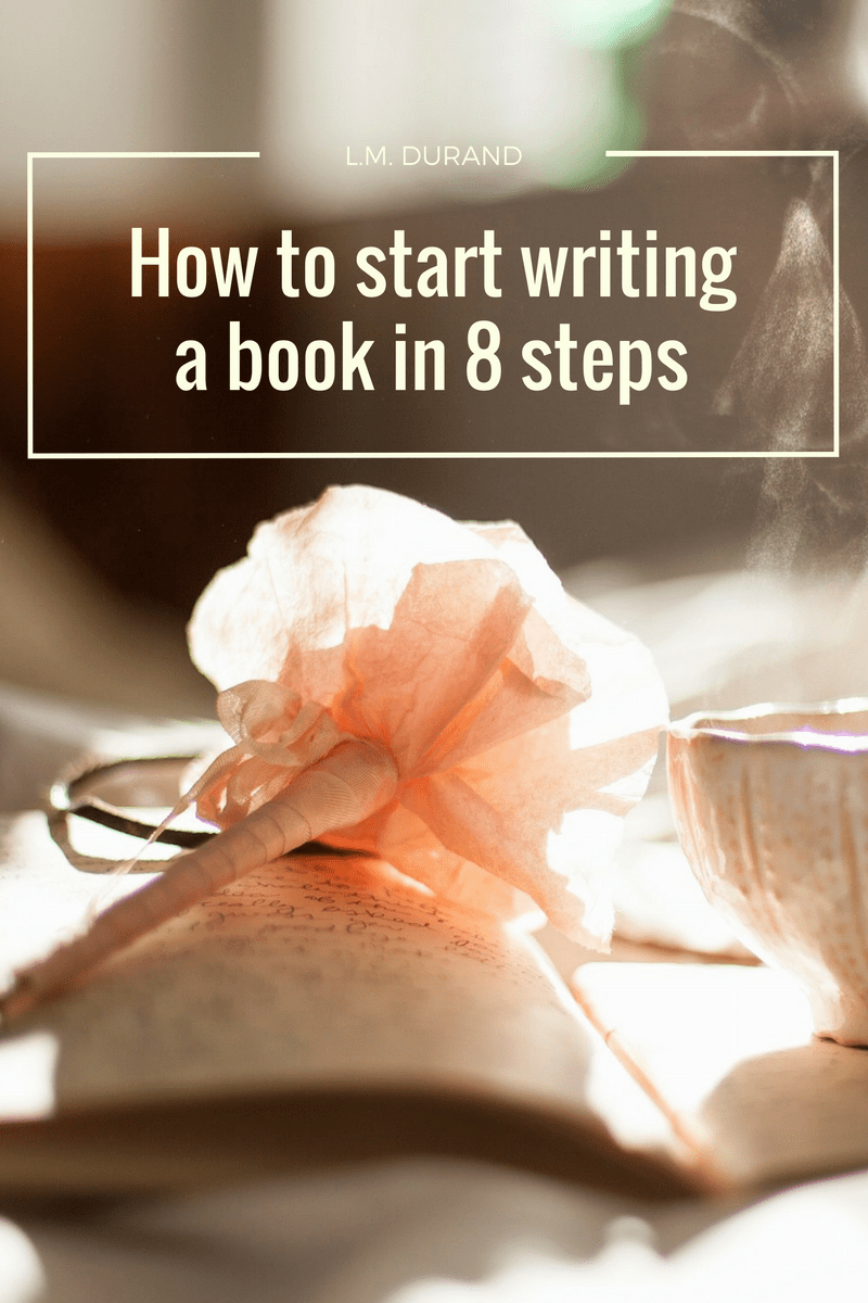 How to start writing a book in 8 steps.