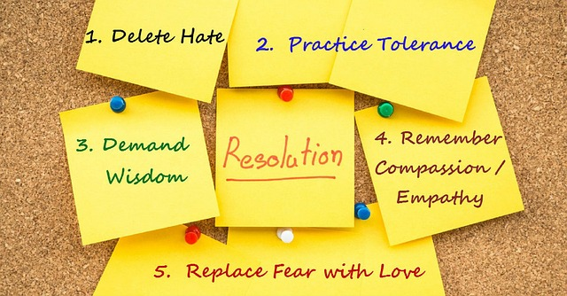 Starting off the year with the right resolutions…