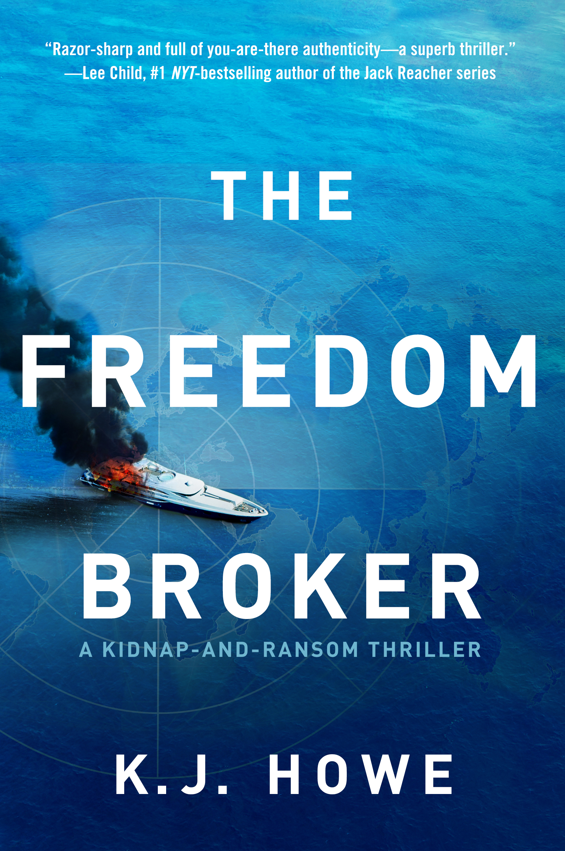 "Author Interview – K.J. Howe, Author of ""The Freedom Broker"""