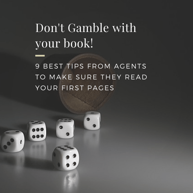 #AuthorToolboxBlogHop – 9 Best Advice from agents to get them to read your first pages when you're querying