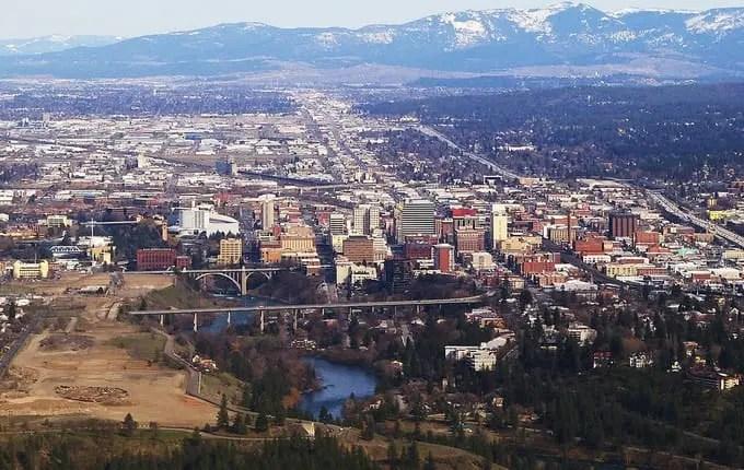 Downtown Spokane WA