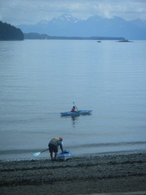 Kayaking out by Auke Recreation
