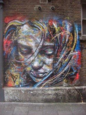 Street art by David Walker