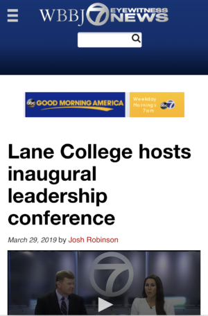 Lane College hosts inaugural leadership conference