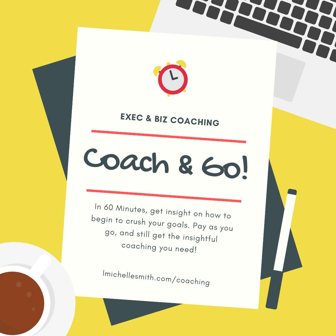 Coach & Go! A la Carte Coaching is Here.