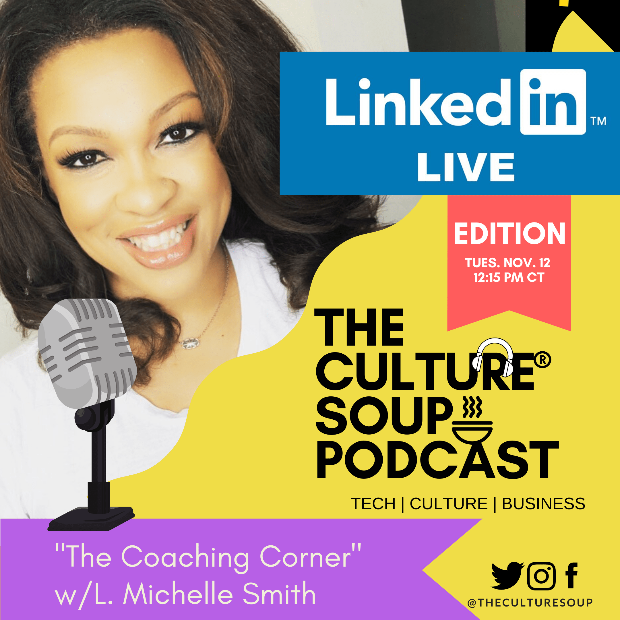 EP 68: The Coaching Corner on #LinkedInLIVE: TRANSITIONS with Tristan Layfield