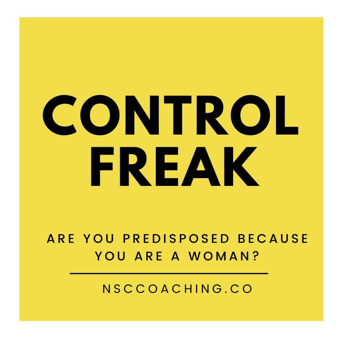 Are you controlling or being controlled?