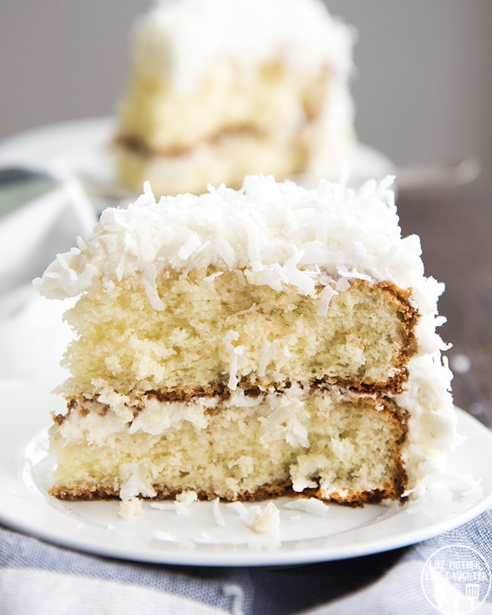 Coconut Cake with Cake Mix