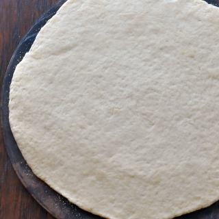 "This is for that fresh ""you make yourself"" pizza dough, ready in 30 minutes, top with your favorites pizza toppings day"