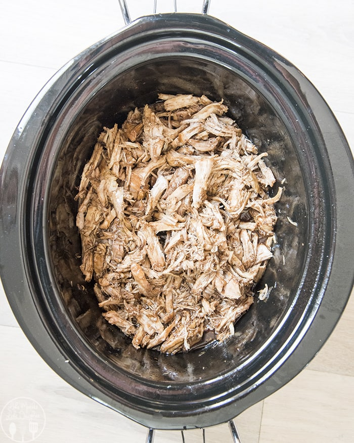 Brown Sugar Balsamic Pork bursting full of flavor, that is perfect for sandwiches, over rice or plain!