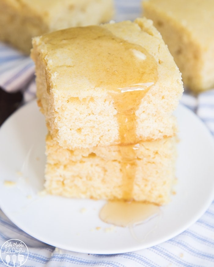 Corn Bread best topped with butter and honey