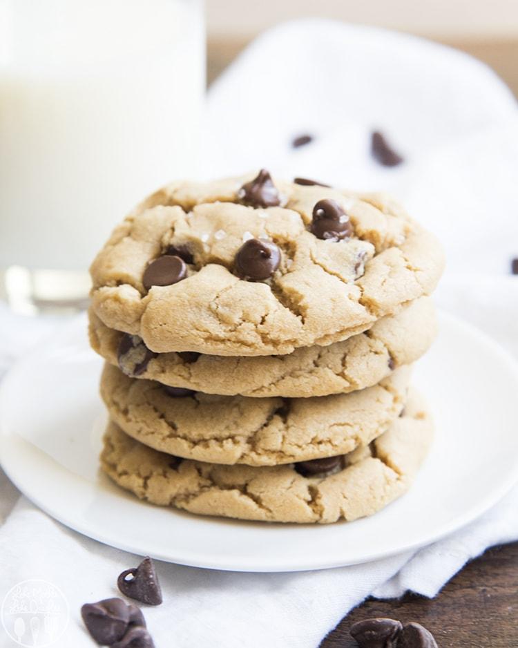 Small Batch Peanut Butter Cookie Recipe