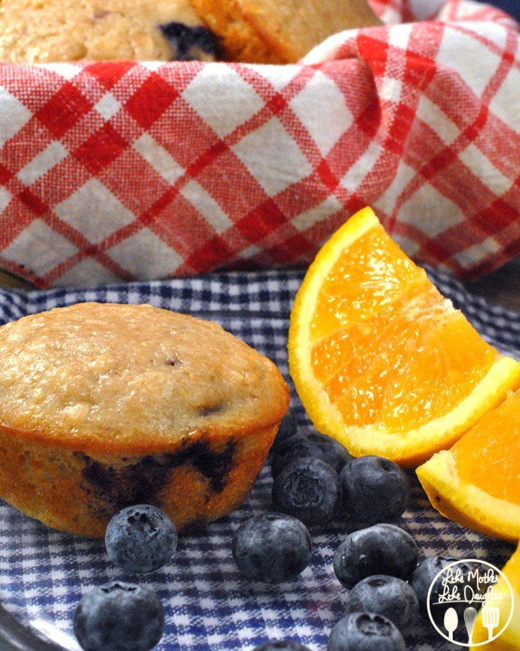 Blueberry Coconut Orange Muffins2