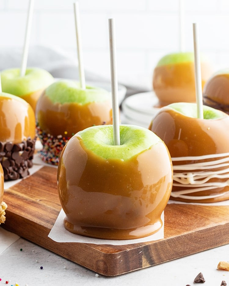 Easy Caramel Apples Like Mother Like Daughter