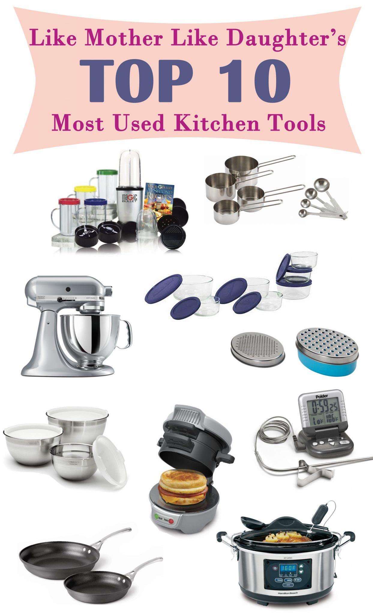 List Of Kitchen Utensils Kitchen Gadgets List