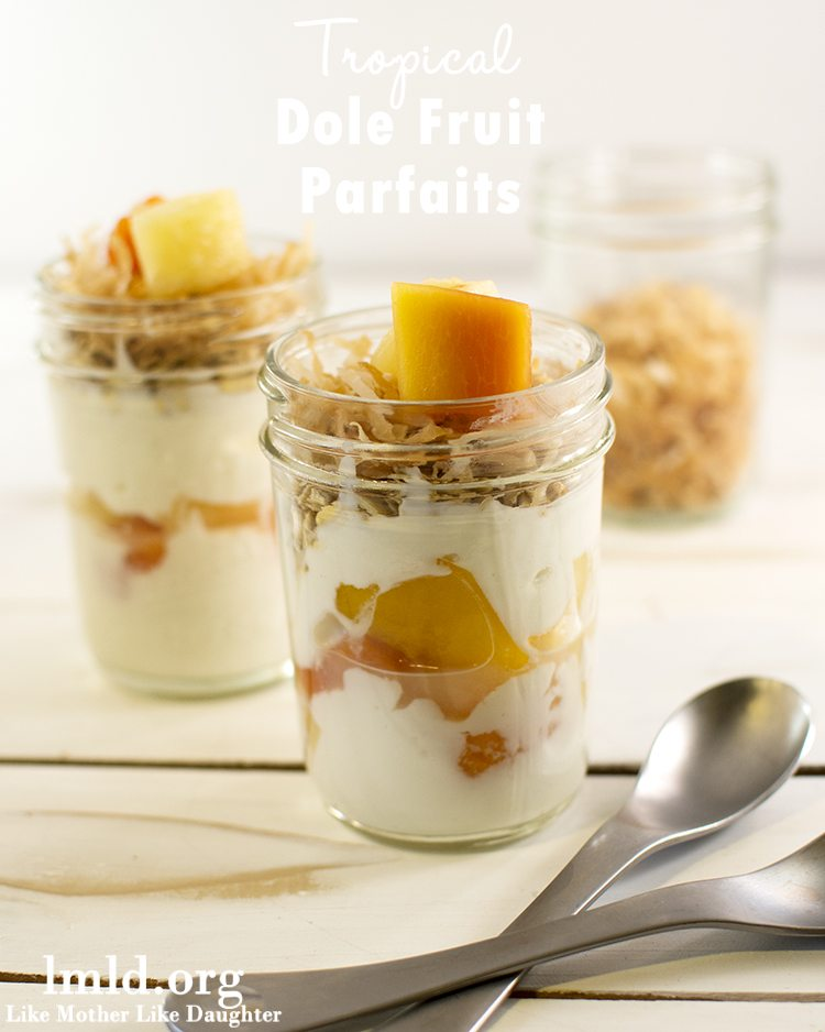 Tropical Dole Fruit Parfaits2