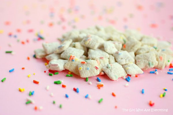 cake batter chow