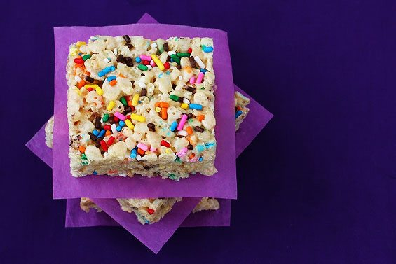 cake batter krispies