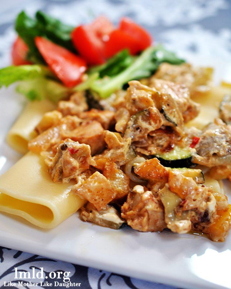 creamy chicken pasta2
