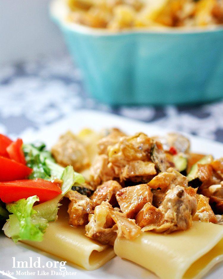 creamy chicken pasta4