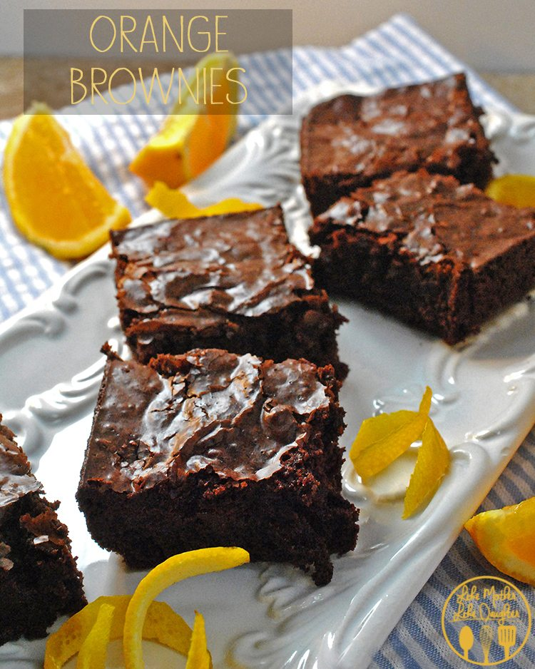 Orange BrowniesB